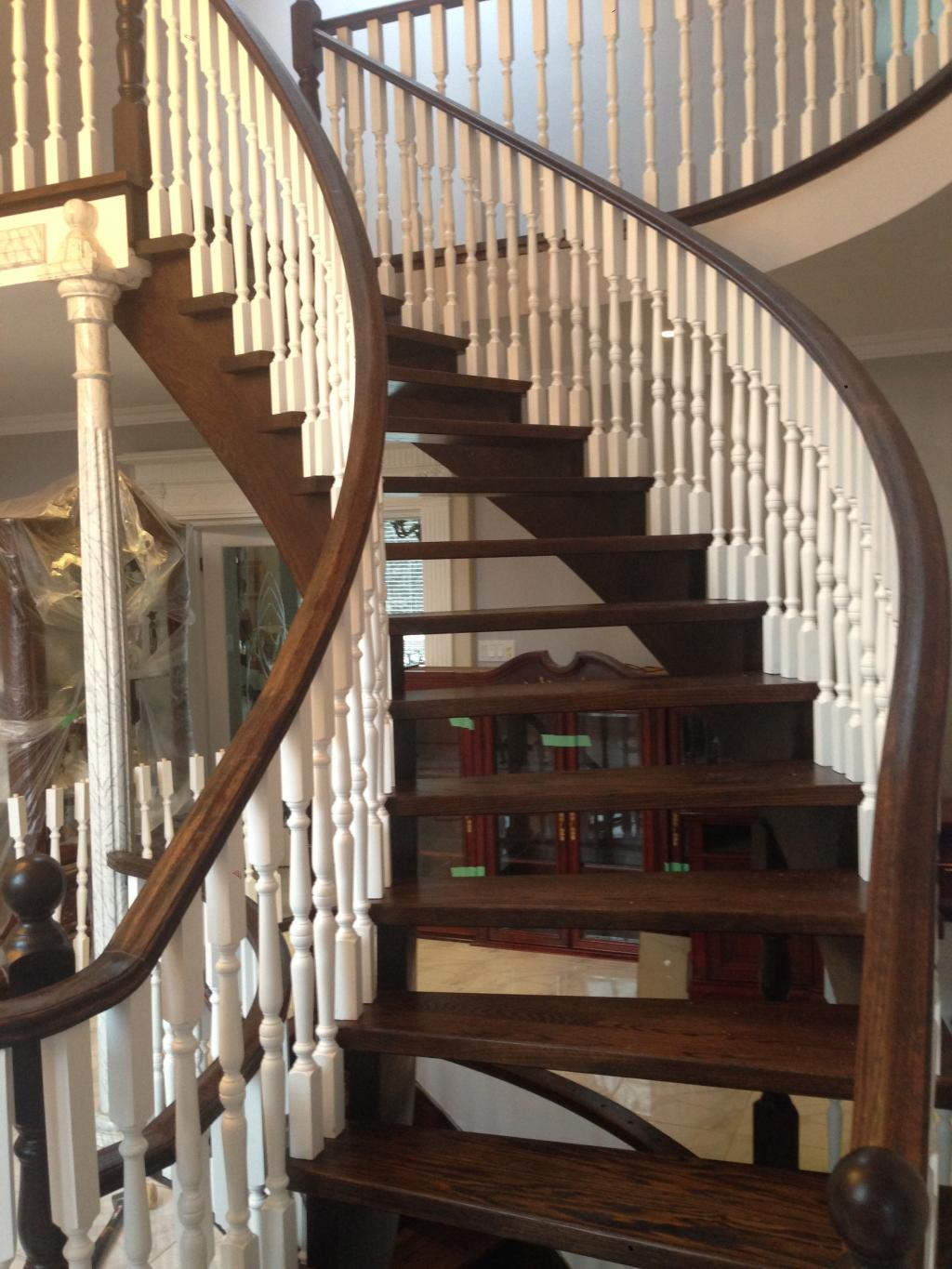 Contact One Of Our GTA Wooden Staircase Professionals Today At (416)  710 3725